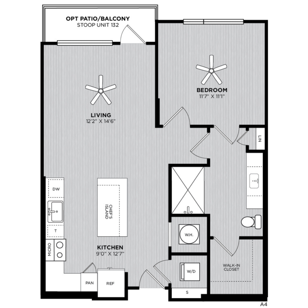 A4 one bed/one bath - Enjoy the Home You Deserve